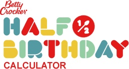"Half Birthday Calculator ~ To find out your half birthday, check out our calculator- It isn't always on the same day of the month as your actual birthday! WHAT A FUN IDEA! Check out some great ideas of ""half"" menu and party funs!"