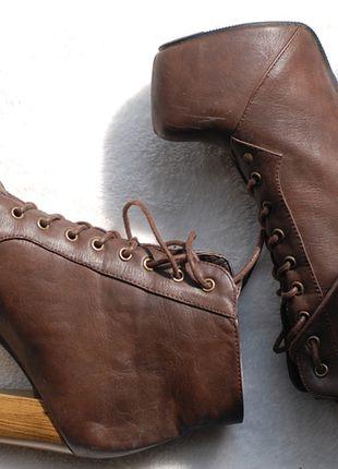 Kup mój przedmiot na #vintedpl http://www.vinted.pl/damskie-obuwie/botki/10467875-deezee-lity-lita-brazowe-wysokie-jak-nowe-rozmiar-36