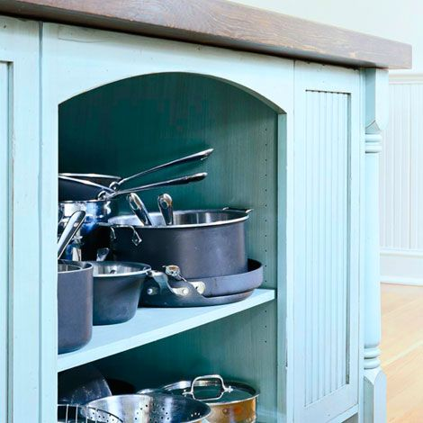 78 best pots and pans images on pinterest frying pans kitchens and good ideas on kitchen organization pots and pans id=52836