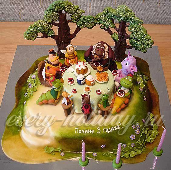 Украшение детских тортов рецепты барби