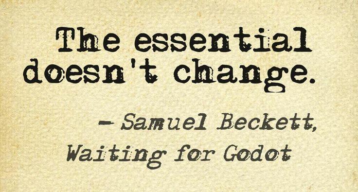Samuel Beckett •