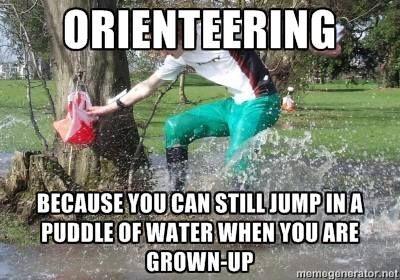 by Orienteering Memes on Facebook