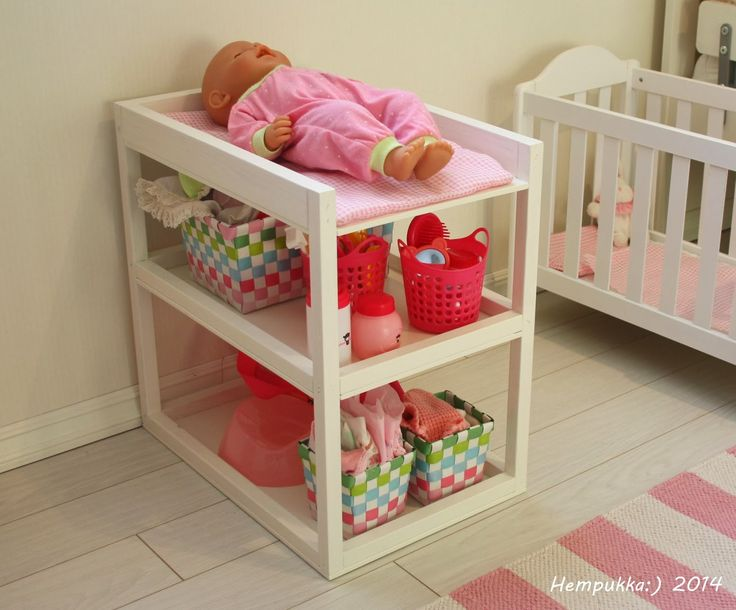 nursing table for babyborn doll