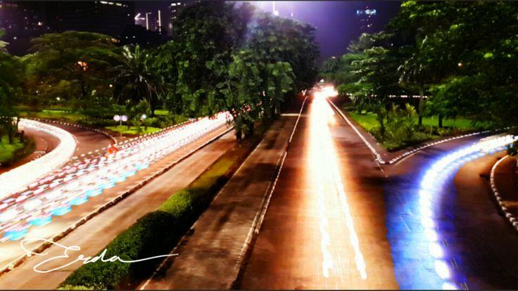 Semanggi traffic