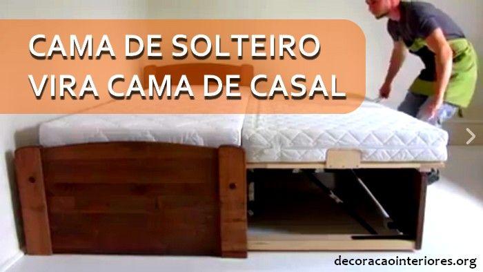 A cama de solteiro que vira cama de casal - bicama - é um produto muito interessante. É uma cama de solteiro com cama auxiliar que pode se elevar de modo a
