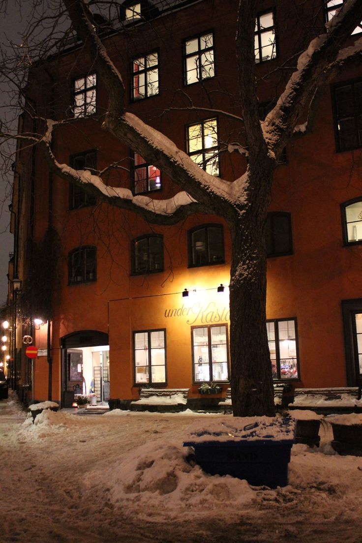 Hunting for coffee and cake in Stockholm, Sweden at christmas time (picture: Christoffer Volf)
