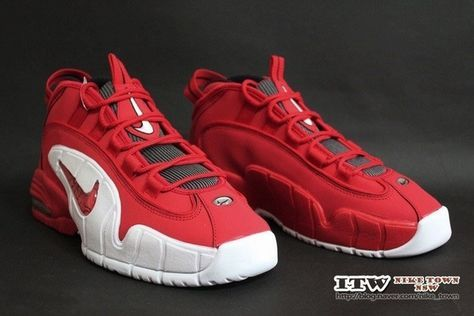 best service 2892f 47936 Nike Air Max Penny 1 Red