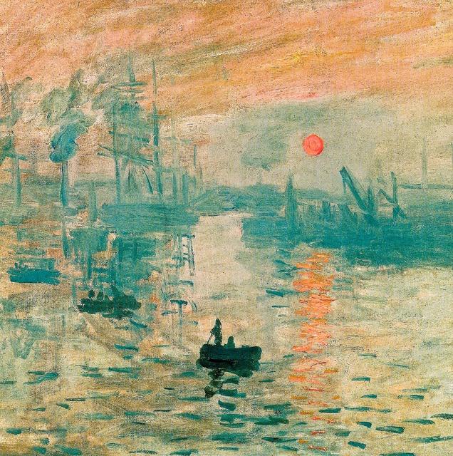 Claude Monet - Impression, soleil levant, 1873 at Monet Marmottan Museum Paris France by mbell1975, via Flickr