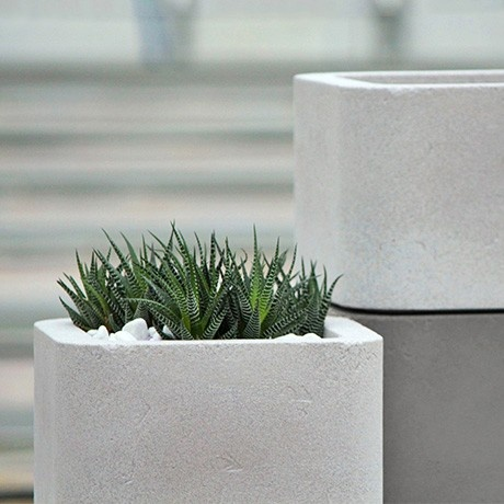 Thankfully, The Planters By German Label Scheeg Manufaktur Meet All The  Above Requirements, Wrapped Up Into Beautiful, Architecturally Inspired  Objects ...