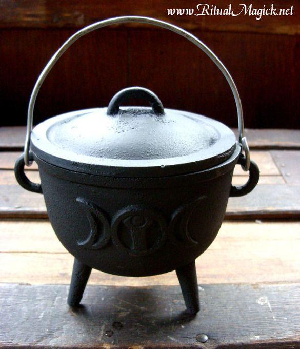 how to make a giant cauldron