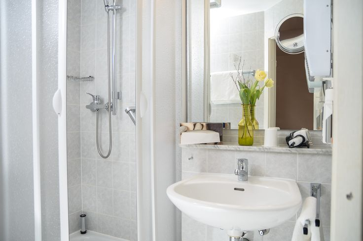 Badezimmer im AKZENT Hotel Meerfräulein