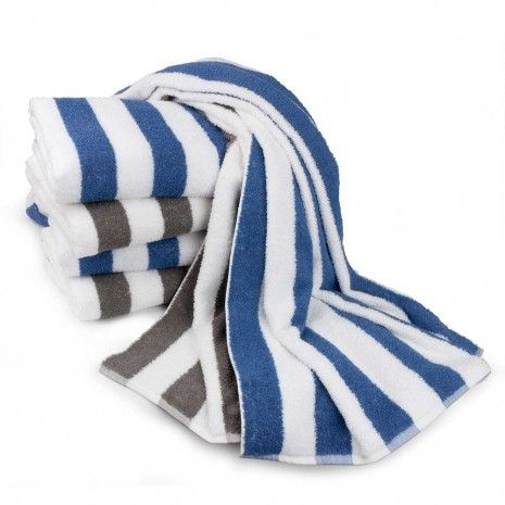 "Cabana Stripe Beach Towel 30""x58"""