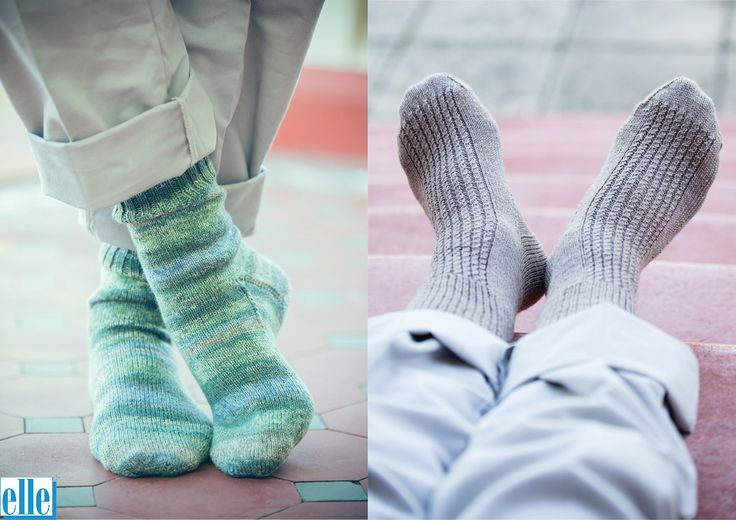 Socks  Brand: Elle Count: 4ply Yarn:Sock Wool Yarn has been discontinued – another 4ply yarn can be used as a substitute Size: Averagegents