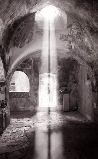 #Crete #church #greece #light #black #white https://www.facebook.com/PloosDesign