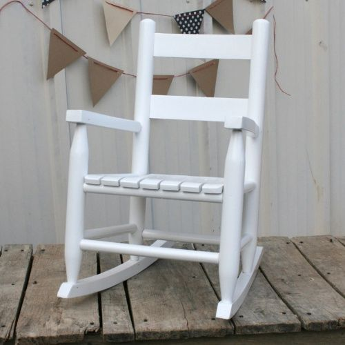 Dixie Seating Child's Rocking Chair - Kids Outdoor Chairs at Hayneedle