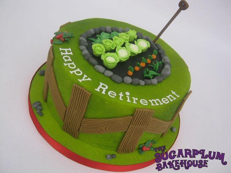 Cakes Ideas Allotment Cakes Cakes Gardens Colors Cakes Theme Cakes