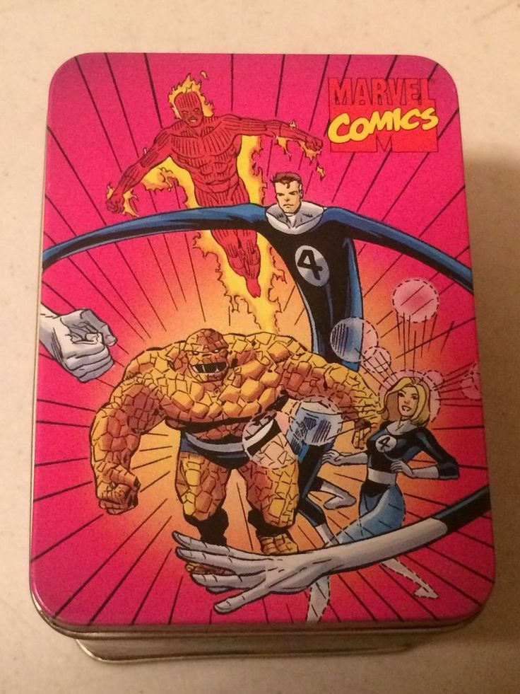 Lot of 48 Marvel Comics Fantastic Four 4 Collectible Tins - 3  x 4  New  | eBay