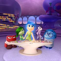 5 emotions at headquarters - limbic system / thalamus - movie: inside out - z. 1706