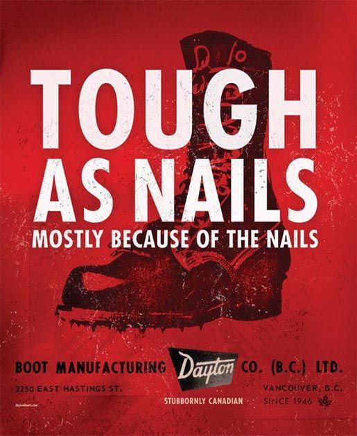 Dayton Boots Tough as Nails