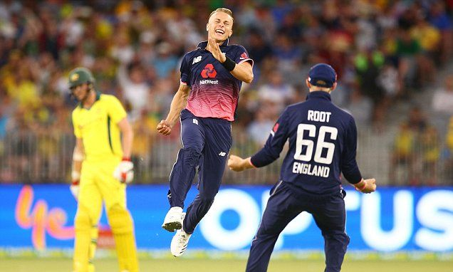 Tom Curran takes five-wickets as England beat Australia | Daily Mail Online