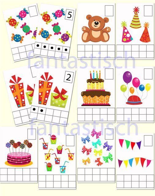 Играем до школы: Математические карточки для занятий с дошкольникам...