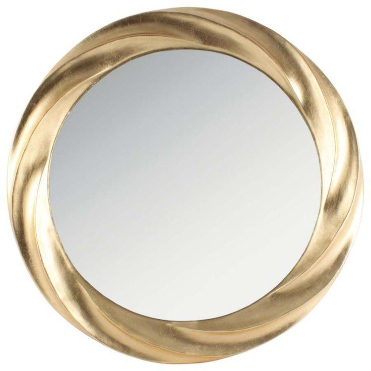 "Oglindă de perete ""Gold Solace"" - Oglinzi clasice - Oglinzi | Retro Boutique"