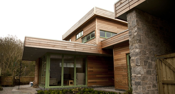 a contemporary styled house in mid Wales