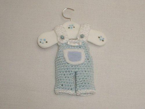 Souvenirs de bautismo tejidos al crochet -