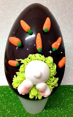 Uova di Pasqua di cioccolato Fondente al latte personalizzato Tema, Dedica e Regalo by www.torteamorefantasia.com