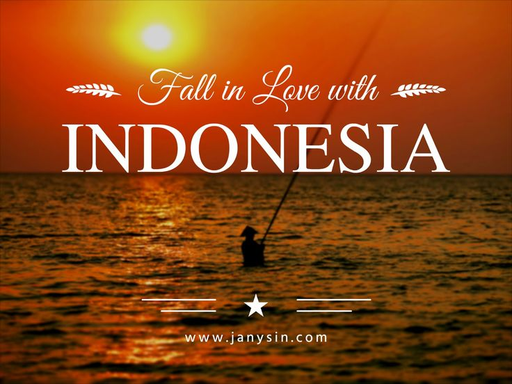 Janys in ...: VIDEO: Fall in love with Indonesia