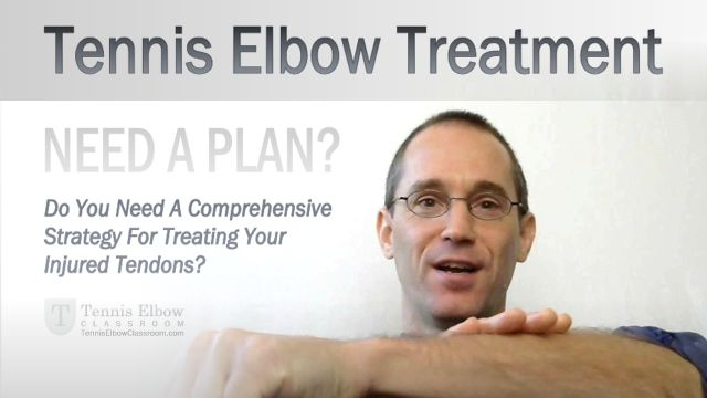 When you're stuck in Tennis Elbow's vicious cycle, it's easy to find yourself jumping from treatment to treatment - and alternative remedy to desperate cure, as you seek relief... But do you have a plan?... Do you have a comprehensive Tennis Elbow treatment strategy?