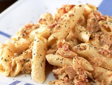 Gorgonzola-Thunfisch+Spaghetti