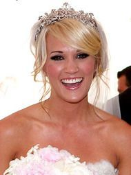 bridal updos with sideswept bangs – Google Search