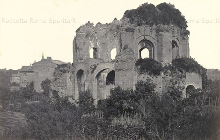 Tempio di Minerva Medica in Via Giolitti Anno: ante 1872
