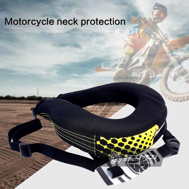 De Scoyco Motocicleta Cuello Guardias Protección MTB Bici Paseos De larga Distancia de Protección Racing Motocross Neck Brace Protector Negro
