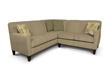 England Living Room Collegedale Sectional At I. Keating Furniture At I. Keating  Furniture In Minot, Bismarck, Dickinson And Williston, ND