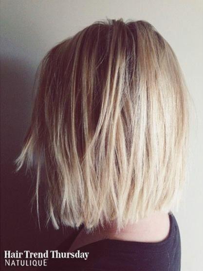 A cute long bob for this weeks Hair Trend Thursday! Done by Bohairmian.