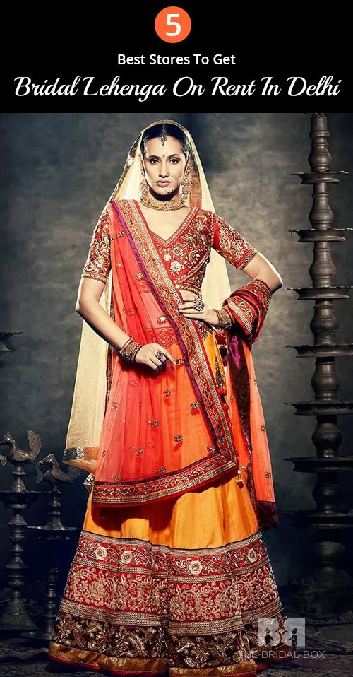 Bridal Lehenga On Rent In Delhi 5 Trusted Places For Best