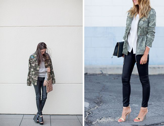 Learn from some of the top style bloggers how to wear camo print this fall! From skinny jeans to accessories, camo print is hot this season!