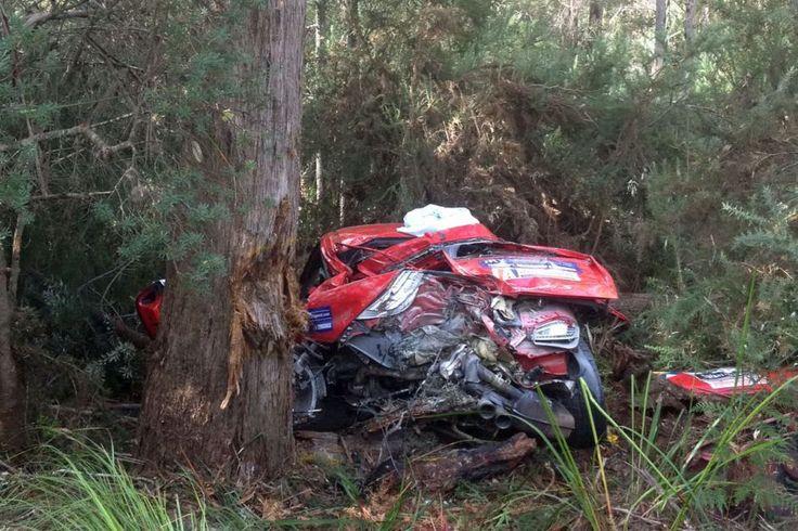 targa crash Car crash, Crash, Rally
