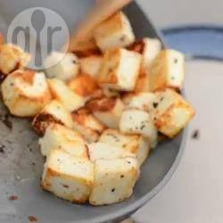 Фото рецепта: Жареный адыгейский сыр