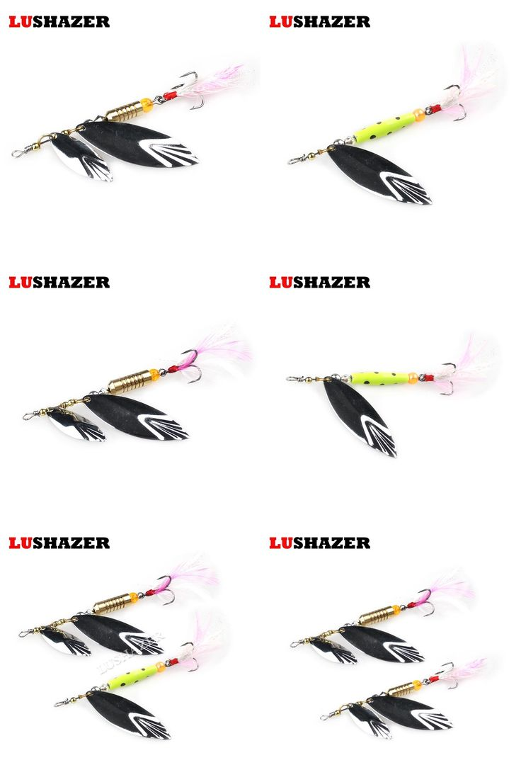 [Visit to Buy] 3pcs/lot LUSHAZER fishing catfish lures bass lures 7g 10g fishing tackle spoon metal lure spinnerbait fishing tackles free ship #Advertisement