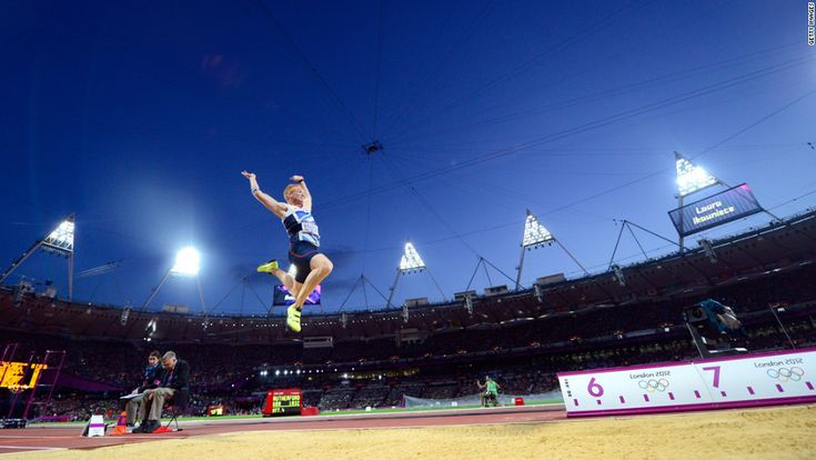 8/4/12 - Greg Rutherford wins gold for Great Britain.  Thank you London!!!