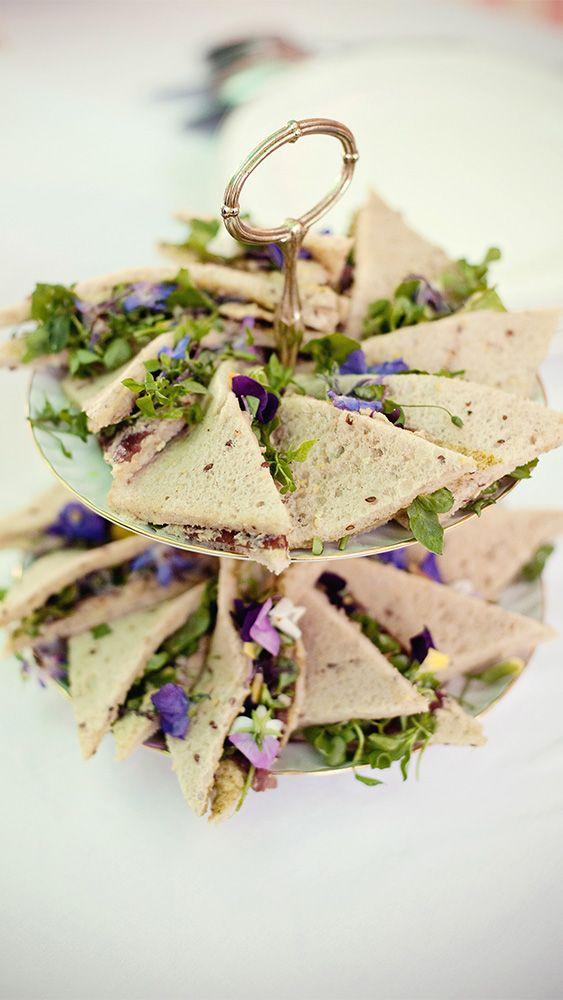 Mini sandwich végétariens - Crédit Photo: Photos Marianne Taylor - Créations culinaires: Marie Chemorin