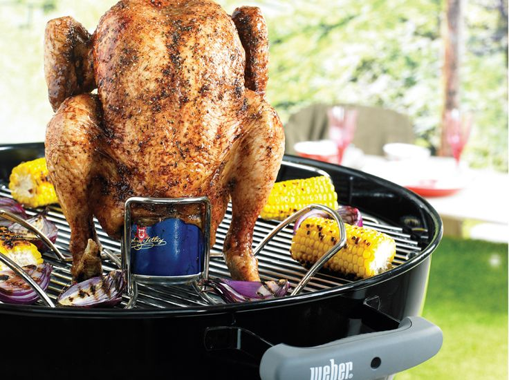 how to cook a chicken on a weber bbq