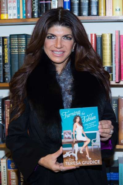 """Celeb photos of the year 2016:    Teresa Giudice attends a book signing for her book """"Turning the Tables: From Housewife to Inmate and Back Again"""" at Book Revue in Huntington, New York, on Feb. 16, 2016."""