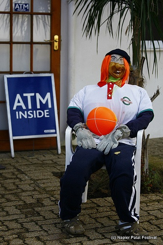 One of the Napier Scarecrows