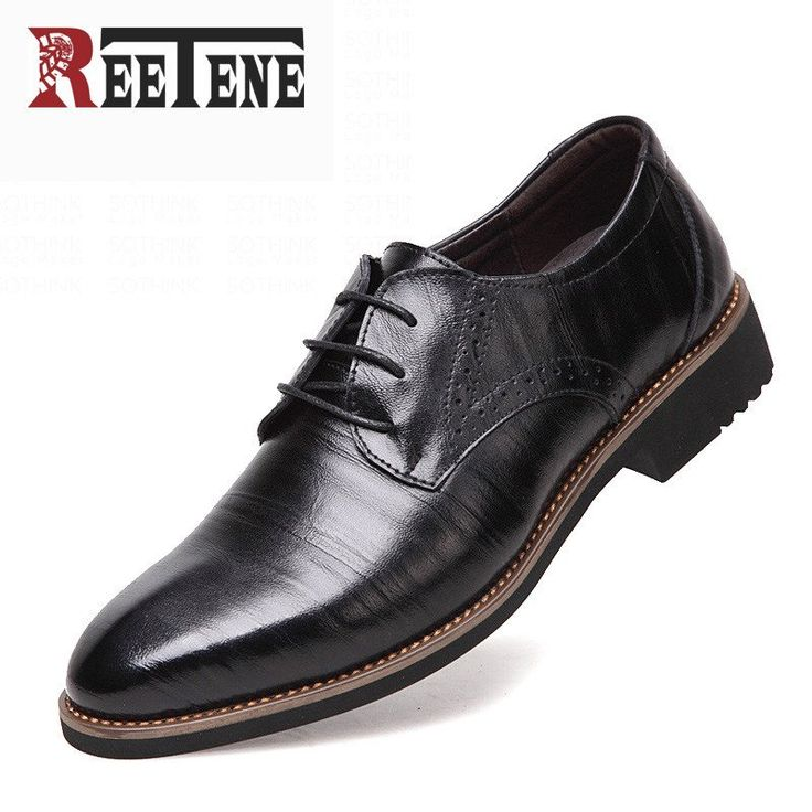 100% Genuine Leather Mens Dress Shoes - High Quality Oxford Shoes For Men