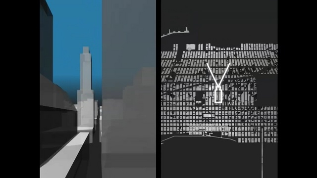 Briljant project from Berg. Here & There in Manhattan  This video is part of a project looking at cities and maps. More can be found on the project at schulzeandwebb.com/hat