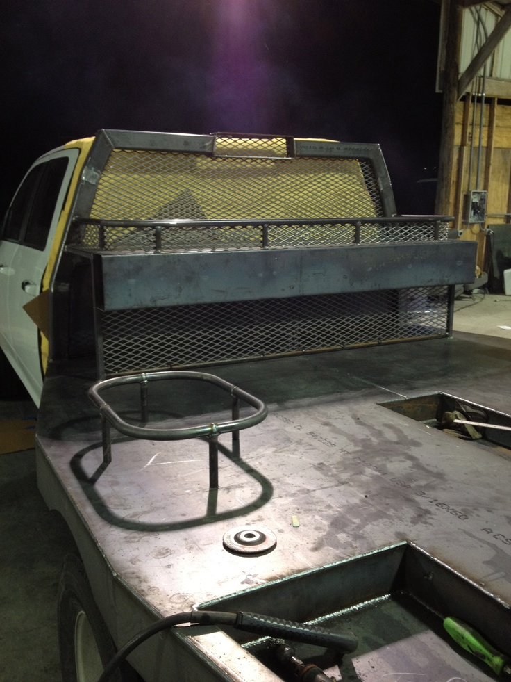 Building The New Flat Bed